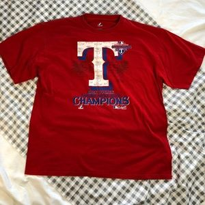 Texas Rangers Back to Back Champions